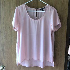 Express NWOT blouse peach size medium